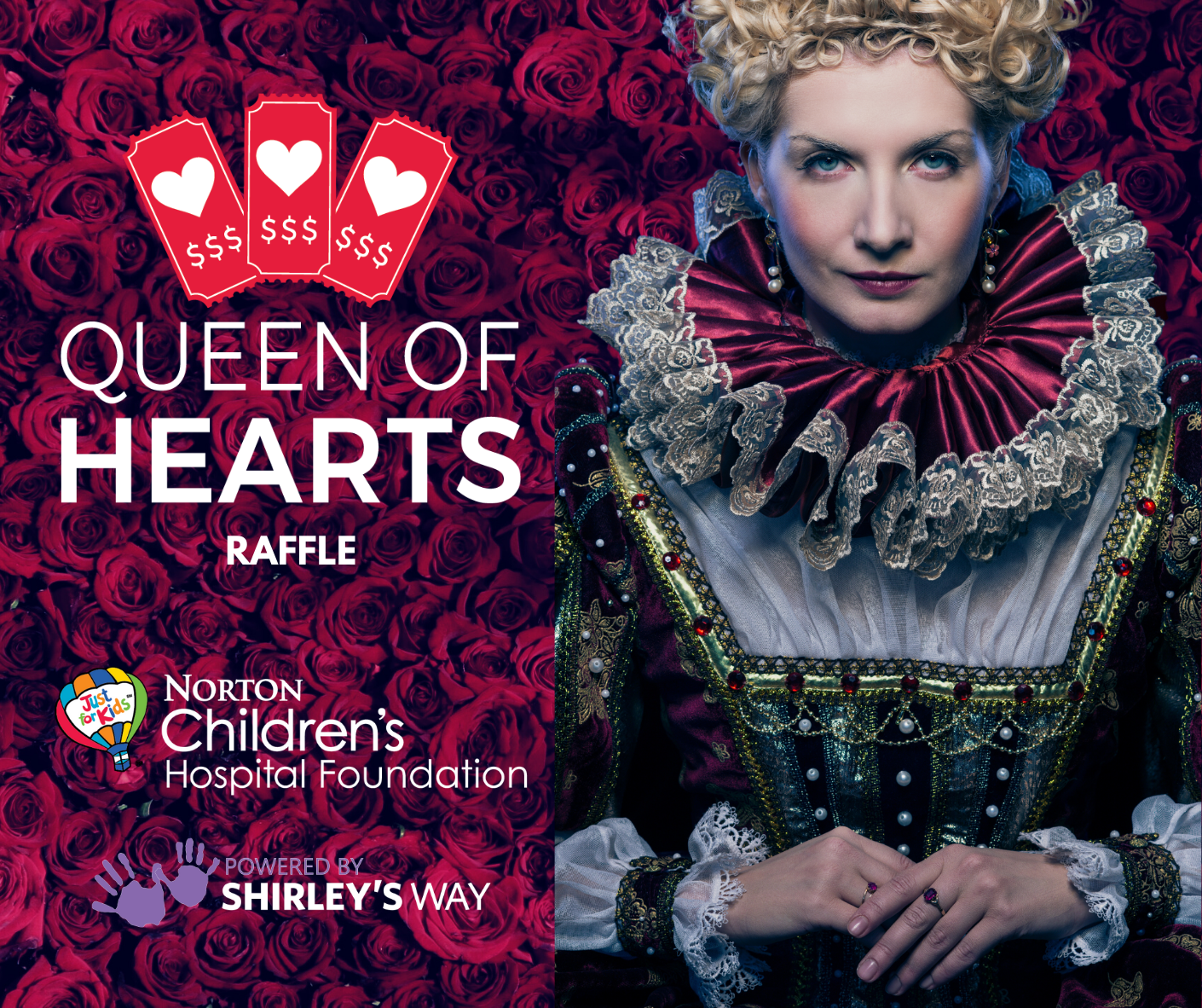 Queen of Hearts Weekly Drawings