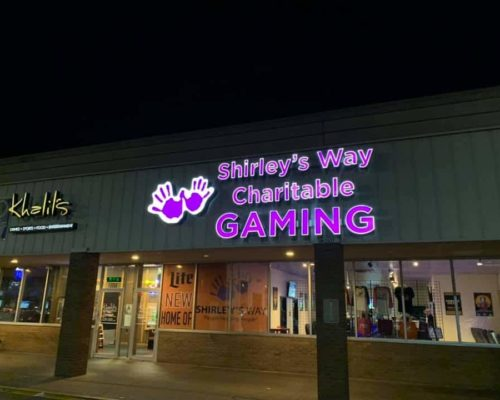 Shirley's Charitable Gaming Storefront